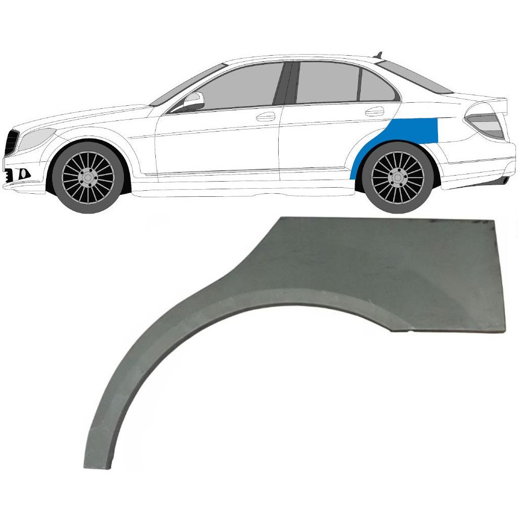 Car Wings & Quarter Panels PAIR MERCEDES C-CLASS W203 2000-2007 ...