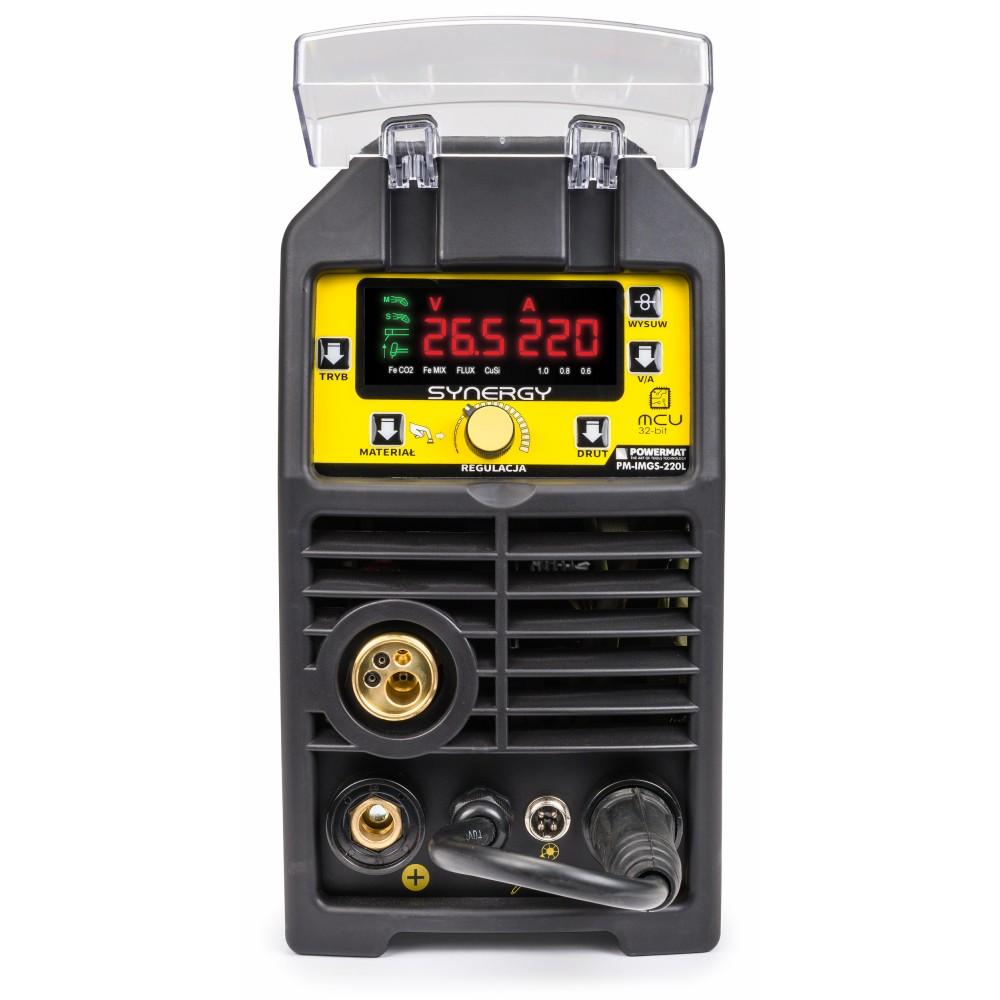MMA WELDER INVERTER 220AMP MIG 220A WELD MACHINE MAG TIG FCAW 5 in 1 MIG