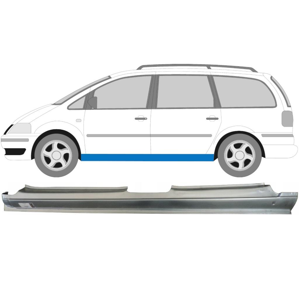 Reparaturblech Schweller Links oder Rechts Ford Galaxy Seat Alhambra VW Sharan