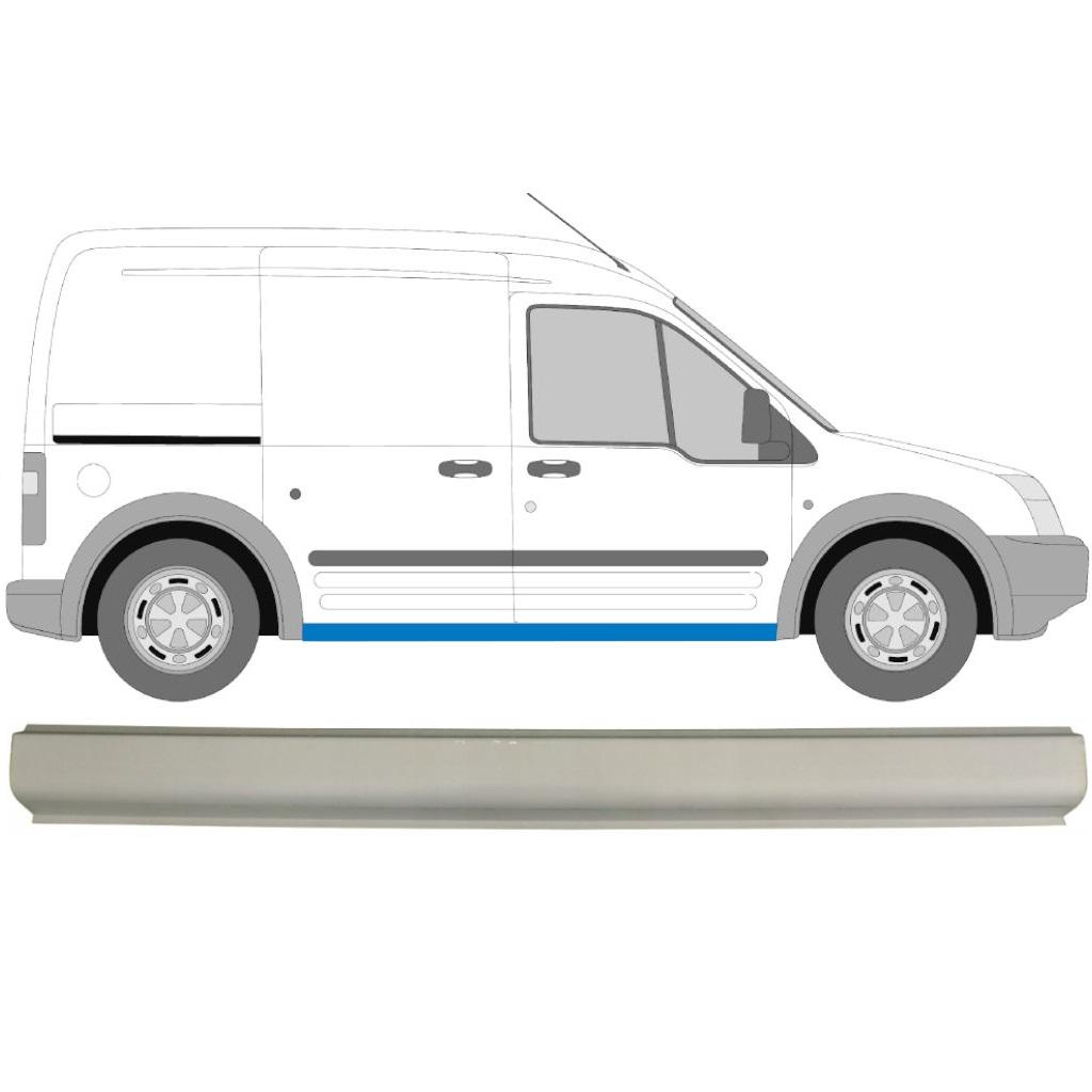 Ford Transit Connect 2003-2015 Schweller Reparaturblech Rechts = Links