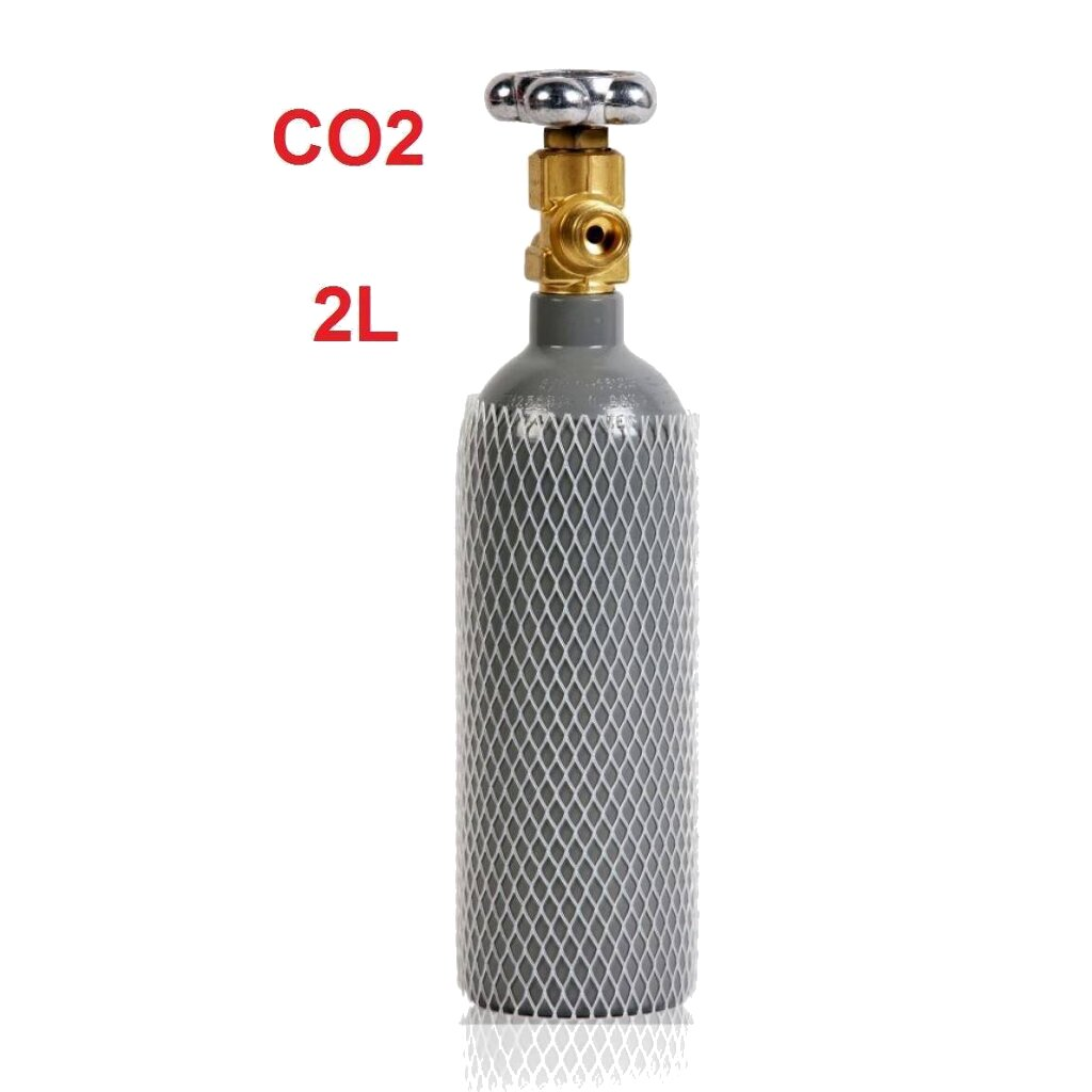 co2 gasflasche 100 2 liter 1 5kg aquarium ebay. Black Bedroom Furniture Sets. Home Design Ideas