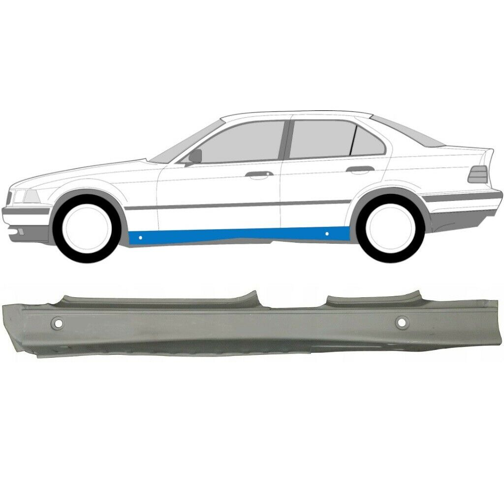 BMW 3 E36 1990-2000 FULL SILL REPAIR PANEL / PAIR