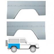 MERCEDES G CLASS W461/463 3 DOOR 1979- REPAIR PANEL REAR WING ARCH x 2 (Pair)