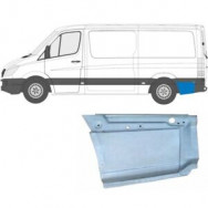 MERCEDES SPRINTER VW CRAFTER 2006- MWB REPAIR PANEL BEHIND REAR WHEEL / LEFT LH