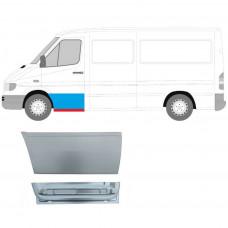 MERCEDES SPRINTER VW LT REPAIR PANEL 1995-2006 FRONT DOOR OUTER+INNER LH SET