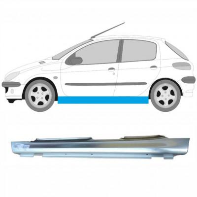 PEUGEOT 206 1998- 5 DOOR REPAIR PANEL FULL SILL / LEFT LH