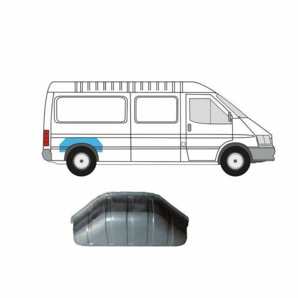 FORD TRANSIT 1991-2000 INNER REPAIR PANEL REAR ARCH RIGHT