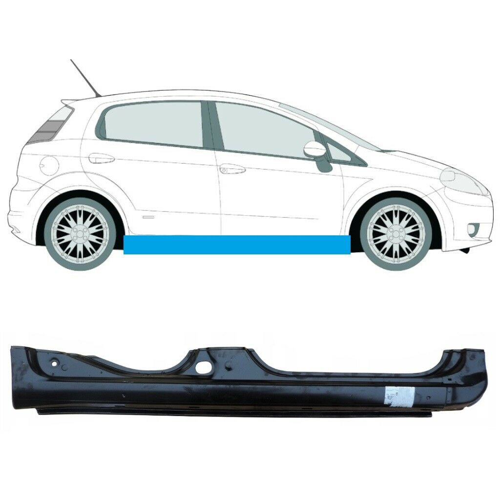 FIAT GRANDE PUNTO PUNTO EVO 2005-2018 FULL SILL PANEL RIGHT