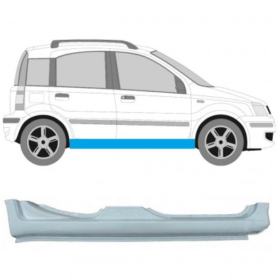 FIAT PANDA 2003-2012 REPAIR PANEL SILL GALVANIZED STEEL RIGHT