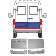 MERCEDES SPRINTER VW LT REPAIR PANEL 1995-2006 REAR DOOR OUTER + INNER x4 SET