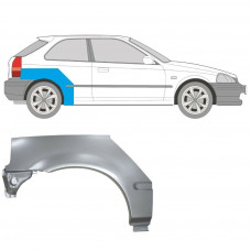 HONDA CIVIC 95-01 EJ/EK 3 DOORS REPAIR PANEL REAR WHEEL ARCH WING RIGHT RH