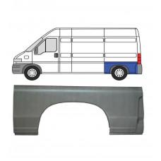 FIAT DUCATO BOXER RELAY MWB / LWB 94-06 REAR WHEEL ARCH REPAIR PANEL LEFT