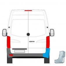 MERCEDES SPRINTER VW CRAFTER 2006- REAR CORNER INNER REPAIR PANEL STEEL PLATE