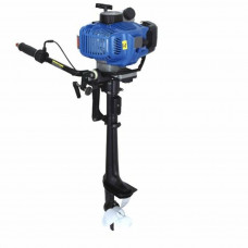 OUTBOARD ENGINE PRO 5.8HP 2 STROKE MOTOR LIGHT INFLATABLE ENGINE BLUE