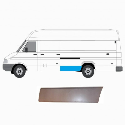 IVECO DAILY REPAIR PANEL 1985-1999 FRONT OF REAR WHEEL LWB LEFT