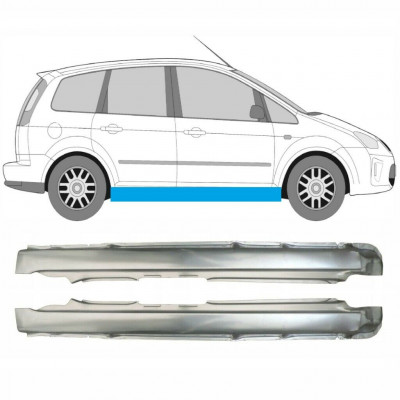 FORD FOCUS MK2 FOCUS C-MAX C MAX 2004-2011 FULL SILL REPAIR PANEL SET
