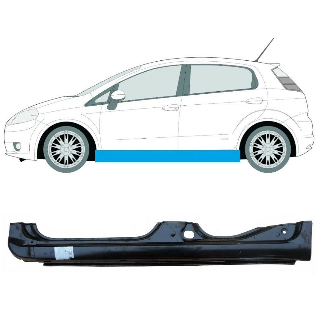 FIAT GRANDE PUNTO PUNTO EVO 2005-2018 FULL SILL PANEL LEFT