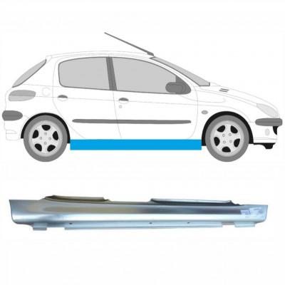 PEUGEOT 206 1998- 5 DOOR REPAIR PANEL FULL SILL / RIGHT RH
