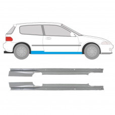 HONDA CIVIC EG/EJ 3 DOOR 1991-1995 REPAIR PANEL SILL LEFT AND RIGHT SET OF 2