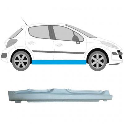 PEUGEOT 207 2006-2013 5 DOOR REPAIR PANEL FULL SILL STEEL RIGHT