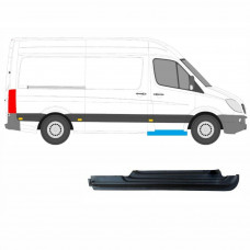 MERCEDES SPRINTER CRAFTER REPAIR PANEL 2006- FRONT DOORSTEP SILL / RIGHT