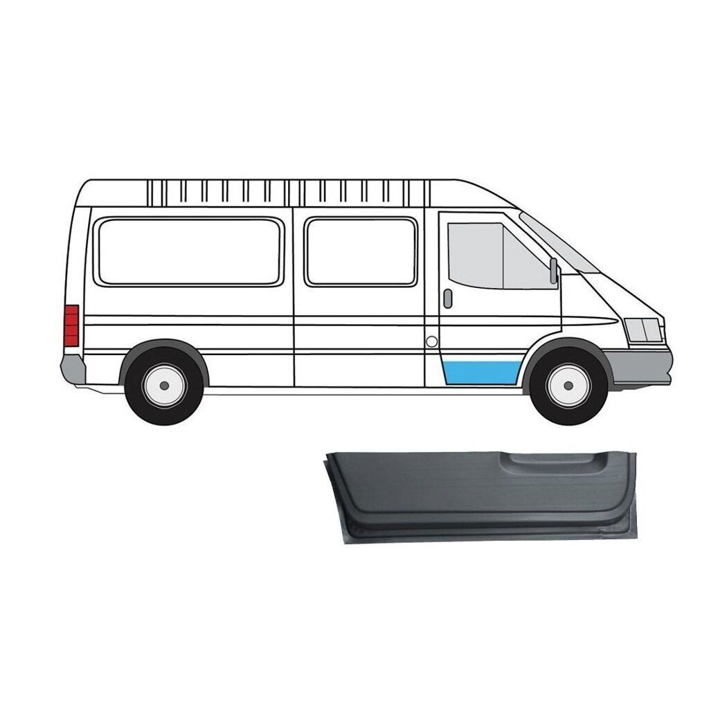 FORD TRANSIT 1991-2000 INNER FRONT DOOR REPAIR PANEL RIGHT
