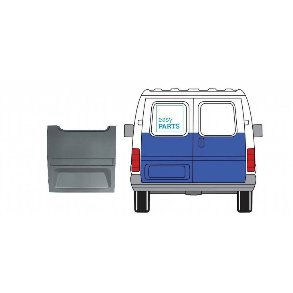 FORD TRANSIT 1985-2000 OUTER REPAIR PANEL REAR DOOR LEFT HIGHER