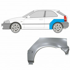 HONDA CIVIC 1995-2001 EJ/EK 3 DOORS REPAIR PANEL REAR WHEEL ARCH WING LEFT LH