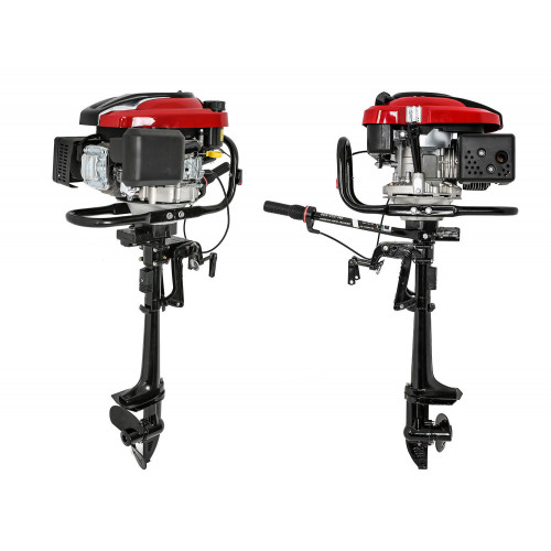 OUTBOARD ENGINE 196cc 6.5 HP 4 STROKE MOTOR BOAT INFLATABLE ENGINE HQ VIDEO