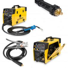 5 in 1 MIG / MAG / TIG / FCAW / MMA Welder Inverter 220AMP MIG220A Weld Machine