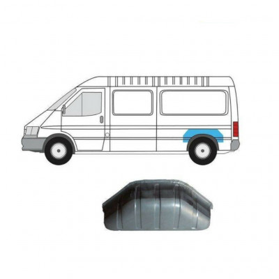 FORD TRANSIT 1991-2000 INNER REPAIR PANEL REAR ARCH LEFT