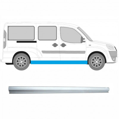 FIAT DOBLO MAXI LONG 2001-2010 SILL REPAIR PANEL / RIGHT = LEFT
