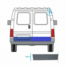 FORD TRANSIT 1991-2000 REPAIR PANEL OUTER SECTION REAR DOOR RIGHT