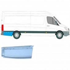 MERCEDES SPRINTER VW CRAFTER LWB 2006- REPAIR PANEL BEHIND REAR WHEEL / RIGHT