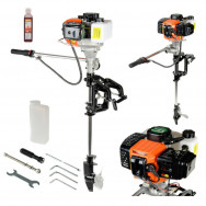 OUTBOARD ENGINE 5.8 HP  MOTOR LIGHT INFLATABLE FISHING ENGINE