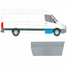 MERCEDES SPRINTER CRAFTER 2006 - FRONT DOOR SKIN OUTER REPAIR PANEL / RIGHT