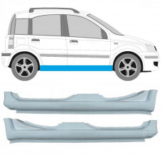 FIAT PANDA 2003-2012 REPAIR PANEL SILL GALVANIZED STEEL Pair