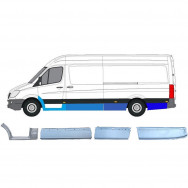 MERCEDES SPRINTER VW CRAFTER 2006- REPAIR PANEL SET OF 8 PIECES  EXTRA LWB