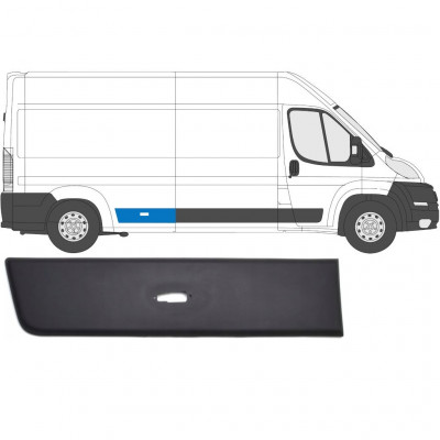 FIAT DUCATO 2006- REAR MOULDING TRIM PANEL WITH LAMP HOLE / RIGHT