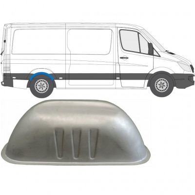 MERCEDES SPRINTER 2006- INNER REAR PANEL / RIGHT = LEFT