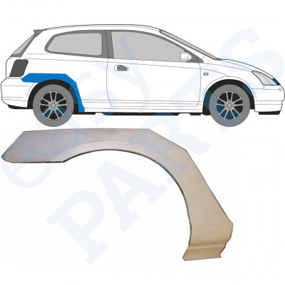 HONDA CIVIC 2001-2005 3 DOOR REAR WHEEL ARCH / RIGHT