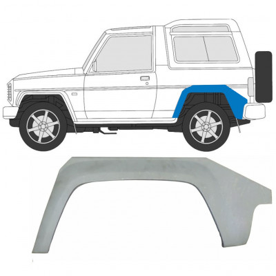 DAIHATSU FOURTRAK ROCKY 1988-1999 REAR WHEEL ARCH / LEFT