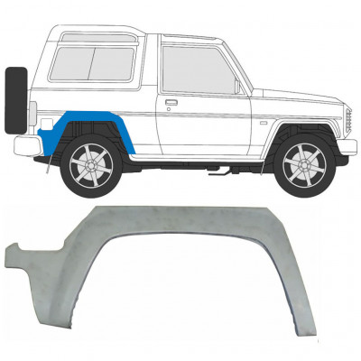 DAIHATSU FOURTRAK ROCKY 1988-1999 REAR WHEEL ARCH / RIGHT