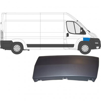FIAT DUCATO 2006- FRONT WING MOULDING TRIM / RIGHT