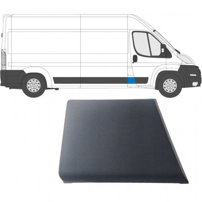 FIAT DUCATO 2006- SIDE MOULDING PANEL TRIM BEHIND THE CAB / RIGHT
