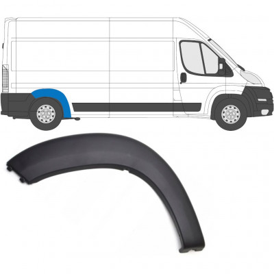 FIAT DUCATO 2006- REAR WING MOULDING PANEL / RIGHT