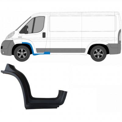 FIAT DUCATO 2006- 1/3 FRONT DOOR SILL PANEL / LEFT