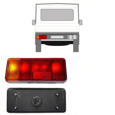 FIAT DUCATO BOXER RELAY 1994-2002 CHASSIS CONTAINER REAR LAMP LIGHT / LEFT
