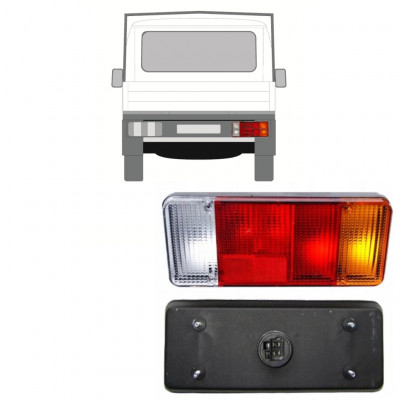 FIAT DUCATO BOXER RELAY 1994-2002 CHASSIS CONTAINER REAR LAMP LIGHT / RIGHT