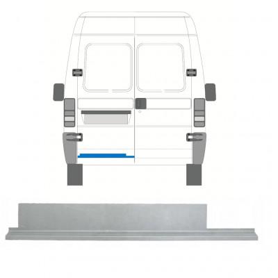 FIAT  DUCATO BOXER RELAY JUMPER 1994-2006 REAR DOOR INNER REPAIR PANEL / LEFT